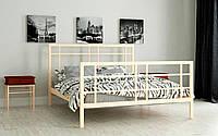 Кровать металлическая Дейзи полуторная 140 (Мадера / Madera) 1450х2008х1300 мм