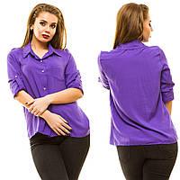 Рубашка женская большие размеры АНД197, фото 1