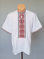 Мужская вышиванка рубашка короткий рукав