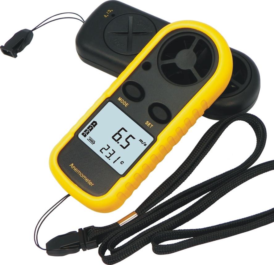 Цифровой анемометр GM-816, измеритель скорости воздуха, газов...