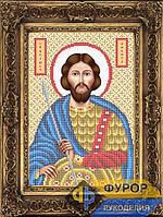 Схема иконы для вышивки бисером - Никита Святой Великомученик, Арт. ИБ4-143-1