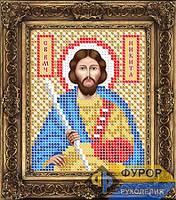 Схема иконы для вышивки бисером - Никита Святой Великомученик, Арт. ИБ6-081