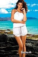 Пляжный комбинезон Leila от TM Marko (Польша) Белый цвет
