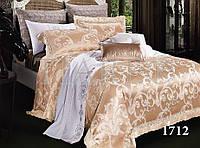 Семейный комплект постельного белья сатин жаккард Tiare 1712