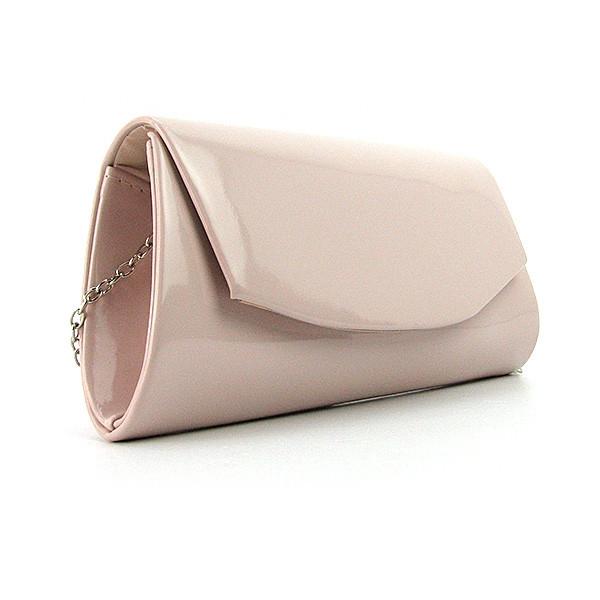cae6068d74ae Светло-розовый клатч Rose Heart лаковый вечерний - Интернет магазин сумок  SUMKOFF - женские и