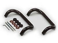 Ручка офисная П-образная 30*300 мм коричневая