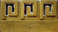 Бордюр «Меандр-міні» радіальний