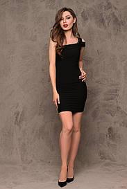 Стильное черное платье