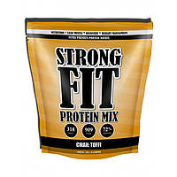 Strong FIT Протеин MIX toffi 909 г