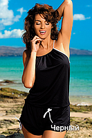 Черный пляжный комбинезон Leila от TM Marko (Польша)