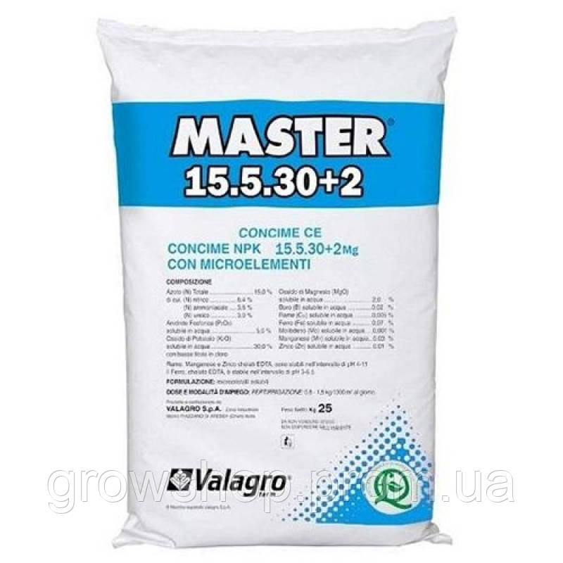 Удобрение Valagro Master 15.5.30+2
