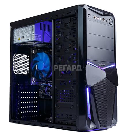 Системный блок РЕГАРД RE0245 (Intel Core i3-6100 3.7GHz/Intel HD Graphics 530, 2GB/16GB DDR4/1 TB HDD/БП 400W), фото 2