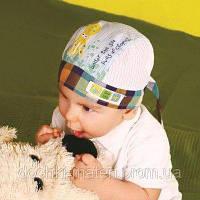 "Бандана для мальчика ""Лари"" зелёный DemboHouse р.44,46,48"
