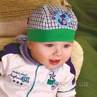 """Бондана """"Некст"""" зелёная для мальчика DemboHouse р.42,44,46"""