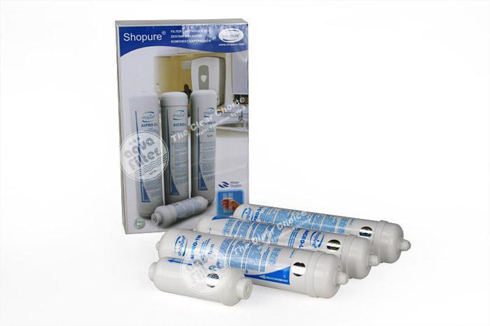 Комплект картриджей для фильтра Aquafilter SPURE-CRT