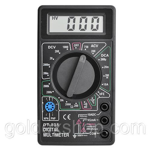 Тестер, мультиметр электронный TD-838