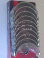 Вкладыши коренные  (0,25)  ВАЗ 2101/2106/2121/2123/2131 (пр-во Дайдо Металл Русь)