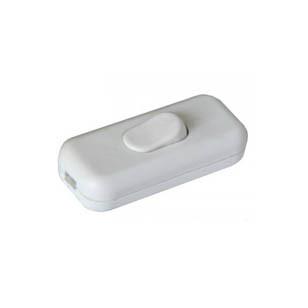 Выключатель на шнур (белый) ПА-1201
