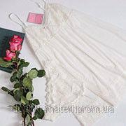 Комплект женский Ellen LOV 002/001 молочный валентинка