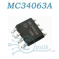 MC34063ADR2G, (КР1156ЕУ5) повышающий / понижающий преобразователь напряжения SOP-8