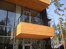 Тросове огородження балконів