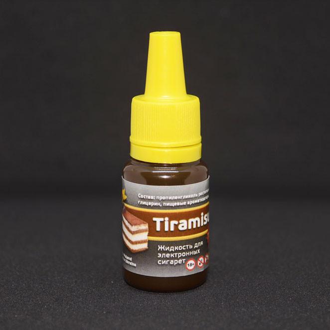 """Жидкость для электронной сигареты """"Тирамису"""" 3мг/мл"""