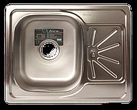 Мойка для кухни врезная прямоугольная  500 х 615 x 175/180 IMPERIAL 0,8 декор