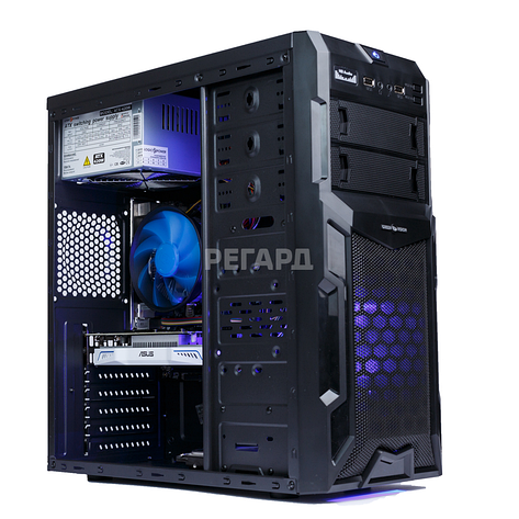Системный блок РЕГАРД RE0611 (Intel Core i7-6700K 4.0GHz/GeForce GTX 1080, 8GB/8GB DDR4/1TB HDD/БП 700W), фото 2
