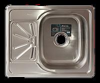 Мойка для кухни врезная прямоугольная 500 х 615 x 175/180 IMPERIAL 0,8 матовая