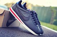 Кроссовки мужские Nike Cortez black, черный значок