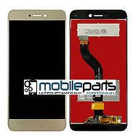 Оригинальный  Дисплей (Модуль) + Сенсор (Тачскрин) для Huawei P8 Lite 2017 (Золотой)