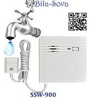 Датчик утечки воды беспроводной SSW-900, затопления, радио-канальный, 433 МГц, Tesla Security