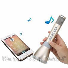 Беспроводной микрофон для караоке Tuxun k068 с динамиком!Акция, фото 2