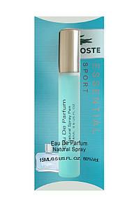 Мини парфюм мужской Lacoste Essential Sport( Лакосте Эссеншиал Спорт), 15 мл