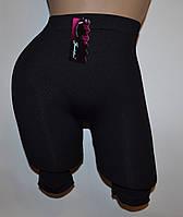 Панталоны утягивающие короткие черные  (336) M 48р