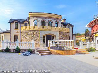 Балясины Новомосковск   Балюстрада бетонная в Днепре и Днепропетровской области 9