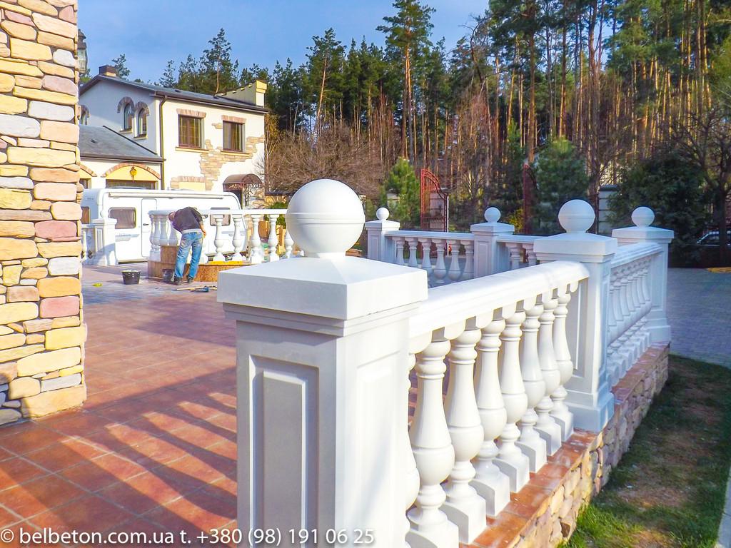 Балясины Новомосковск | Балюстрада бетонная в Днепре и Днепропетровской области 13