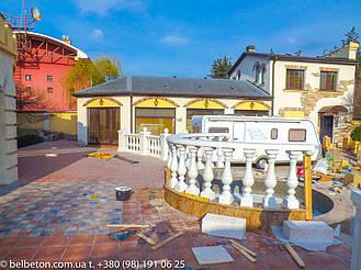 Балясины Новомосковск   Балюстрада бетонная в Днепре и Днепропетровской области 16