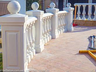Балясины Новомосковск   Балюстрада бетонная в Днепре и Днепропетровской области 18