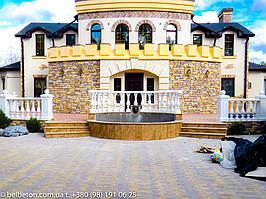 Балясины Новомосковск | Балюстрада бетонная в Днепре и Днепропетровской области 26