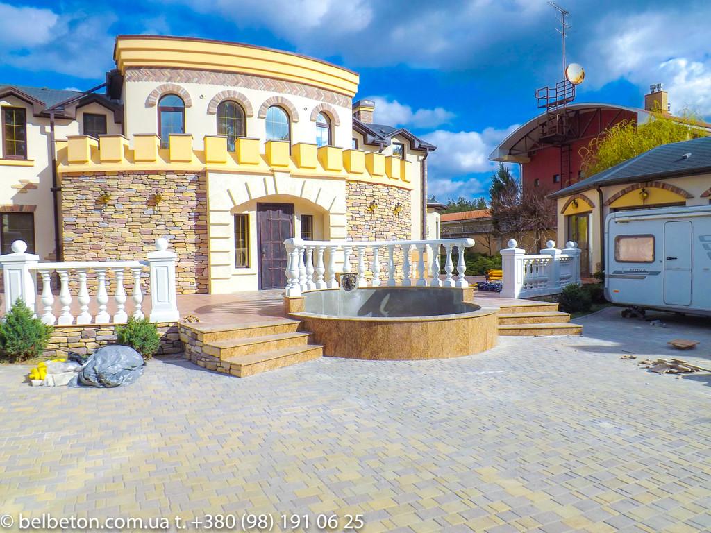 Балясины Новомосковск | Балюстрада бетонная в Днепре и Днепропетровской области 32