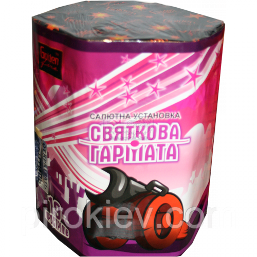 "Салютная установка ""Праздничная пушка"" SB-34"