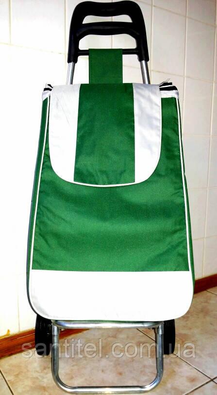 """Тележка с сумкой """"Зеленый"""""""