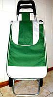 """Тележка с сумкой """"Зеленый"""", фото 1"""