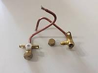 Сервисный кран для кондиционера d-4мм