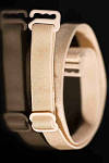 Бретельки тканевые бежевые ширина 1 см