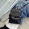 Стеганый рюкзак из кожзама, фото 2