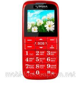 Телефон Sigma Comfort 50 Slim 2,2 дюйма, 2 сим, 800 мА/ч, кнопка SOS