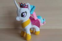 Лошадка Пони Селестия, мягкая игрушка производитель Копыця, Украина