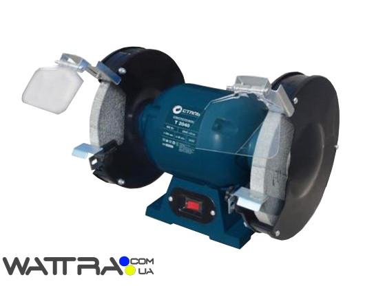 Електроточило СТАЛЬ Т2040 (400вт, 200мм) точильний верстат